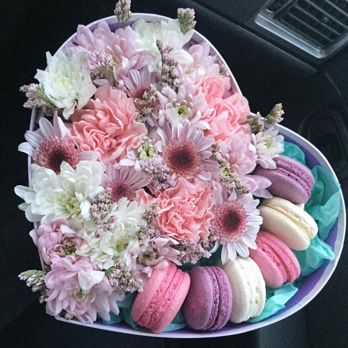 Коробка с пирожными Macaron 3