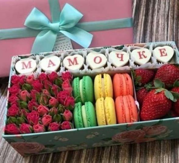 Букет сладостей для мамы