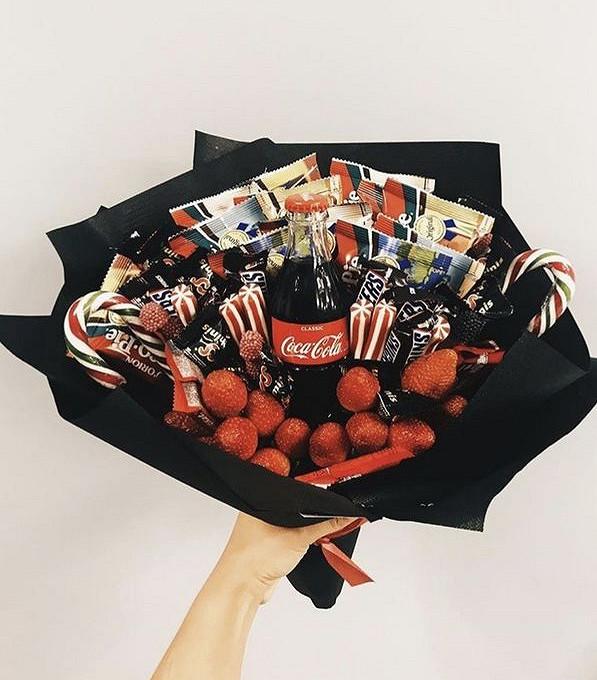 Букет для сладкоежки XL