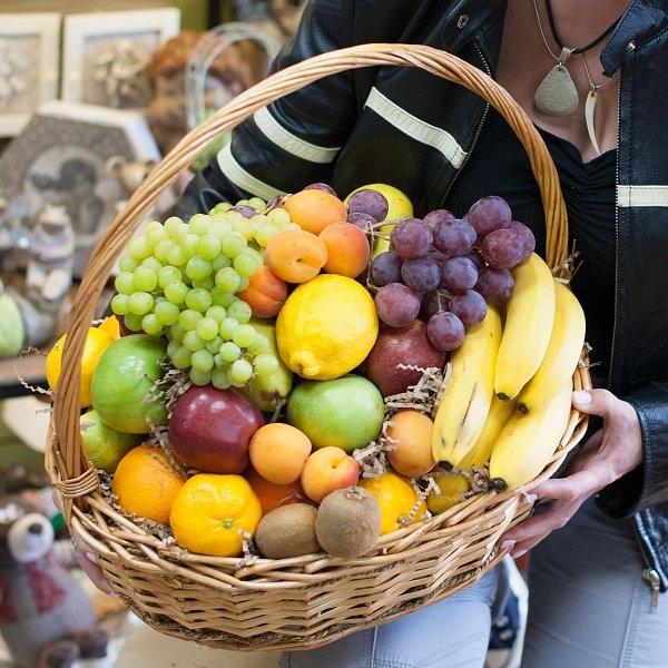 """Корзина с фруктами """"Фруктовая"""""""