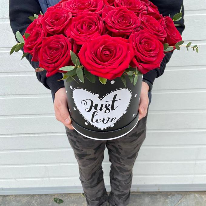 Коробка с ароматной российской розой