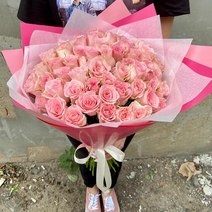 51 розовя Кенийская розочка