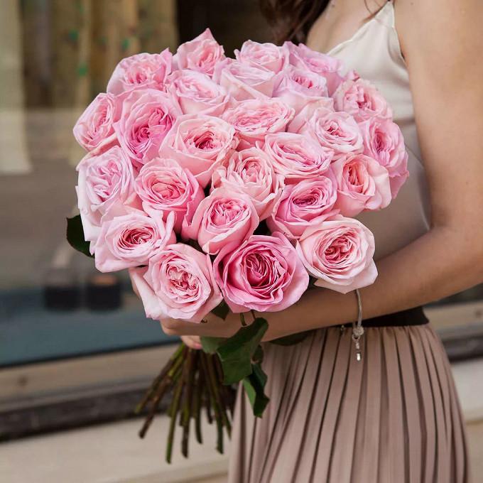 Ароматные розы Пинк Охара