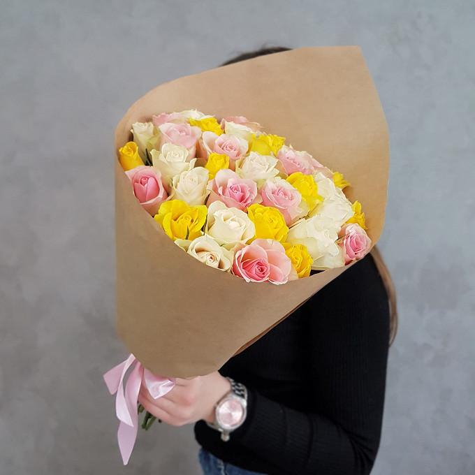 35 роз, букет №42