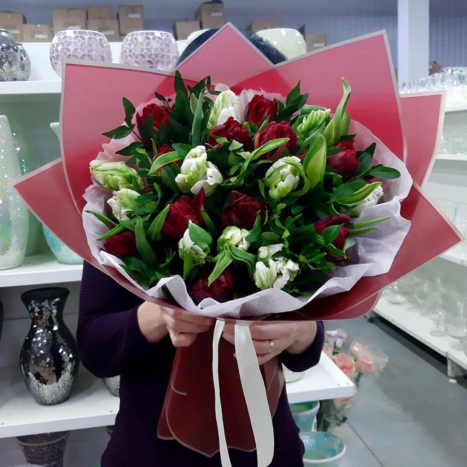 Тюльпаны в красивом исполнении