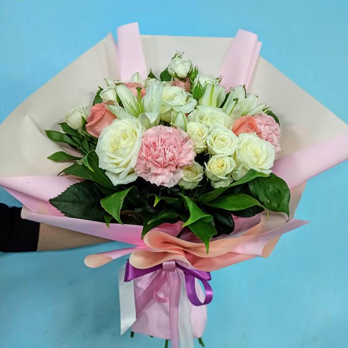 Розоый пудинг