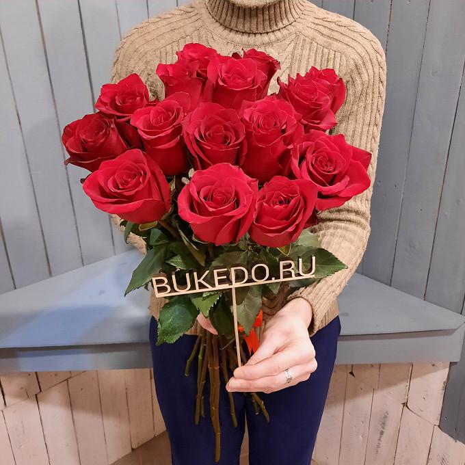 Красные розы Эквадор, 60 см