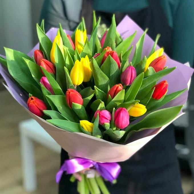 35 ярких тюльпанов