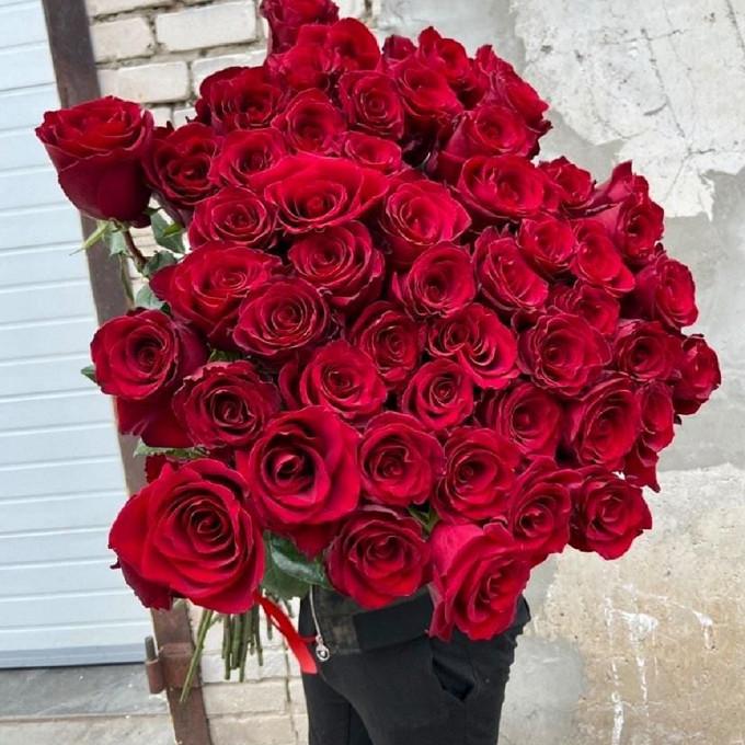 Высокие розы 130 см